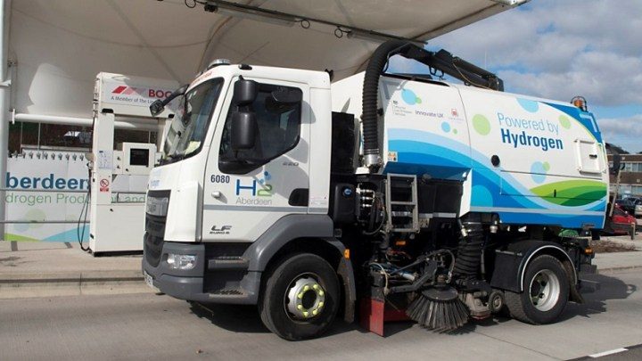 Project HyTIME uses hydrogen dual fuel to reduce carbon emissions