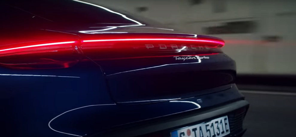 Porsche unveils Taycan electric car headed to Chinese market
