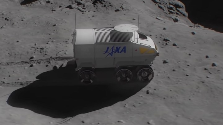 Toyota names its six-wheeled hydrogen powered lunar rover
