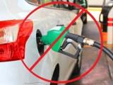 Gas-powered car ban - refuelling car