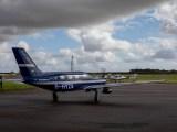 Hydrogen fuel passenger plane - ZeroAvia Piper M-class H2 airplane