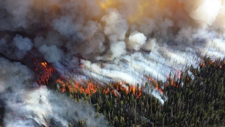 Wildfire smoke is hindering energy production through solar panels