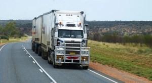 Fuel Cell Transport Trucks - Truck on road