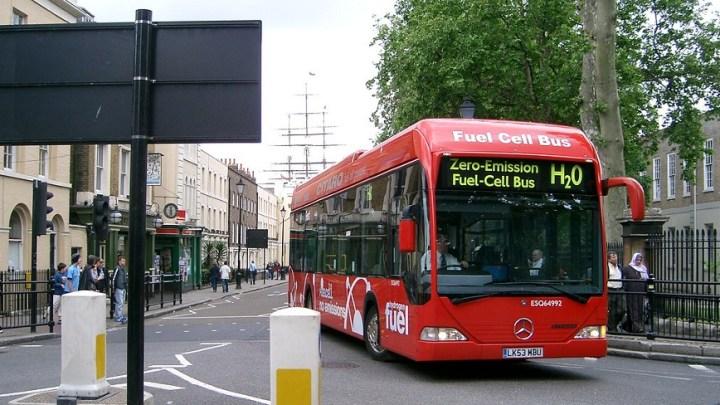 Toyota hydrogen bus arrives in Ireland for trial run