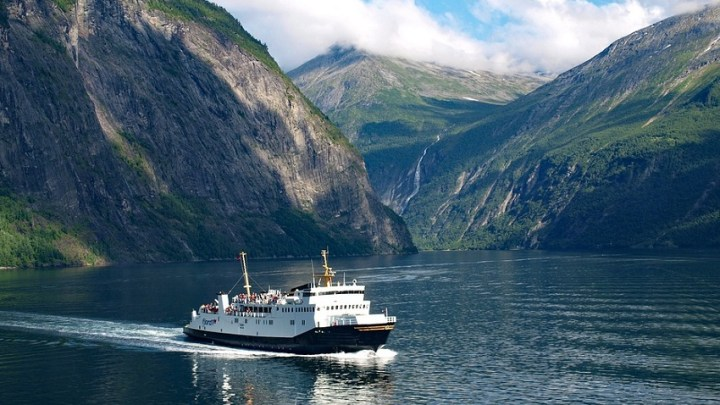 Emission-free ferry heading to UNESCO World Heritage Site fjords