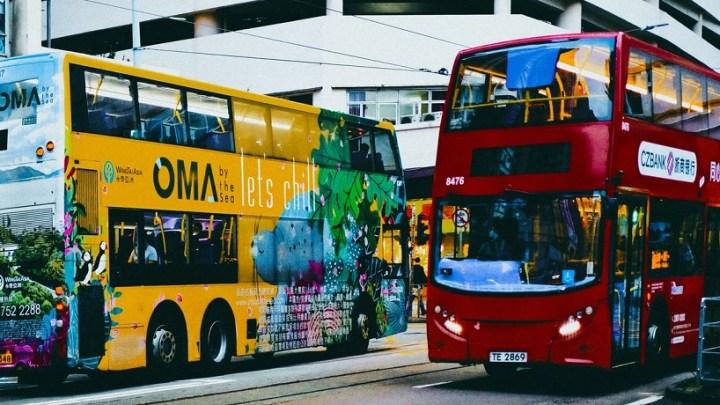 World's first hydrogen powered double decker bus heads out on Aberdeen streets