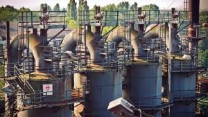 Hydrogen powered steel plant - old steel mill