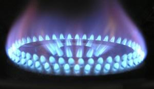 Blue hydrogen plant - Gas - blue flame