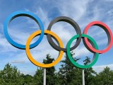 Tokyo Olympic Torch - Olympic rings
