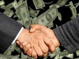 Cost of hydrogen fuel cells - partnership - handshake - money
