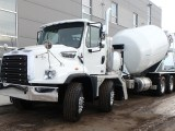 Hydrogen fuel cell construction vehicles - Image of mixer truck