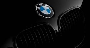 Hydrogen fuel powered car - BMW car wit logo