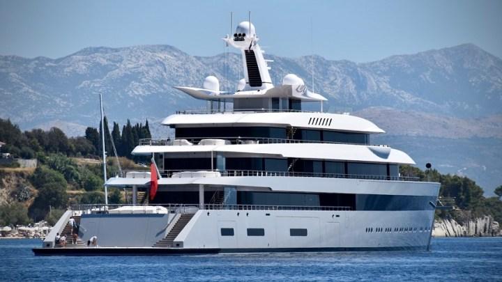 Hydrogen powered superyacht from Lürssen to launch in 2025