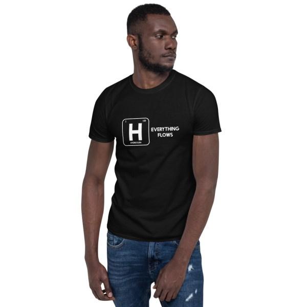 Hydrogen Everything Flows Short-Sleeve Unisex T-Shirt 2