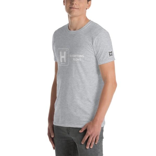 Hydrogen Everything Flows Short-Sleeve Unisex T-Shirt 27
