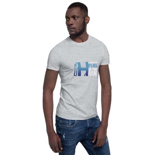 Hydrogen Future Short-Sleeve Unisex T-Shirt 21