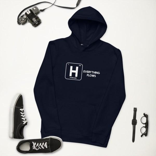 Earth Friendly Unisex Hydrogen Eco Hoodie - Everything Flows 4