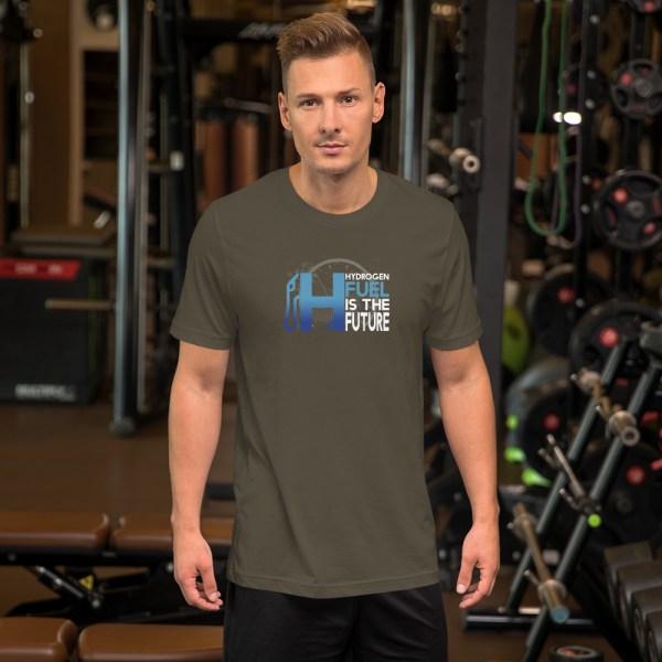 Unisex Hydrogen T-Shirt H2 Fuel is The Future - Multiple Colors 30