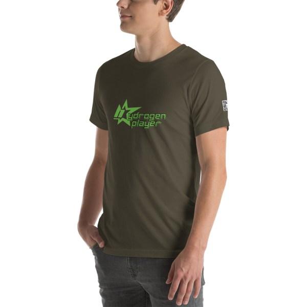 Hydrogen Player Short-Sleeve Unisex T-Shirt Multiple Colors 19