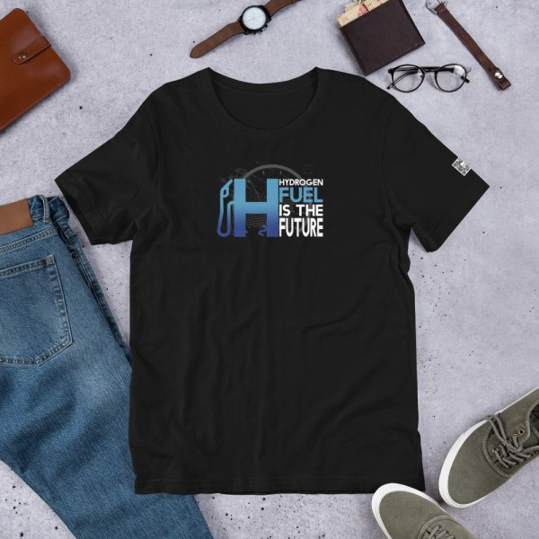 Unisex Hydrogen T-Shirt H2 Fuel is The Future - Multiple Colors 4