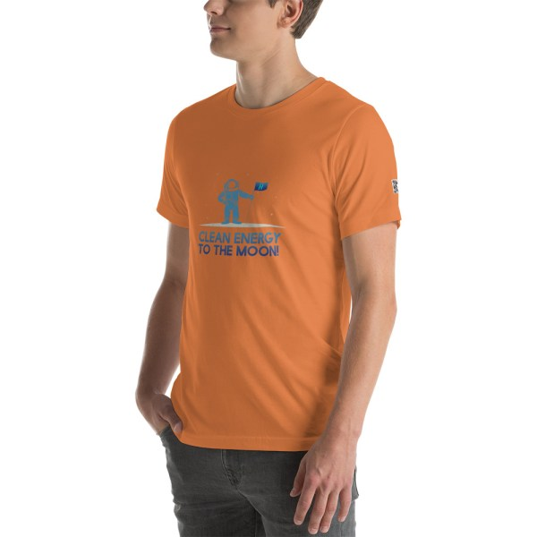 Clean Energy to the Moon Short Sleeve T-Shirt - Multiple Color Options 21