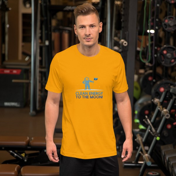 Clean Energy to the Moon Short Sleeve T-Shirt - Multiple Color Options 26
