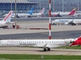 H2 conversion kits - Air Nostrum aircraft at airport