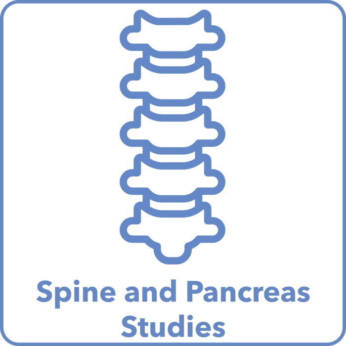 Spine and Pancreas Studies