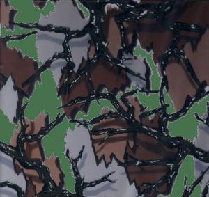 Film hydrographique Camouflage armé