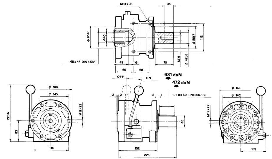 Manual mechanical clutch pump GR3 30500