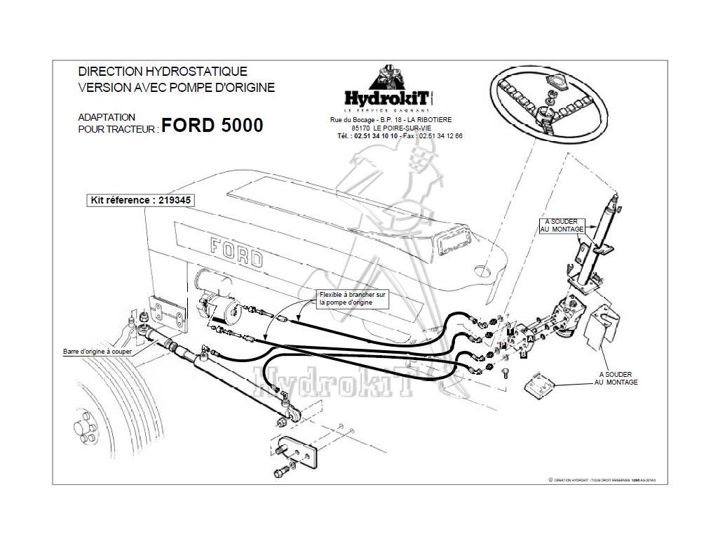 33 Ford Power Steering Diagram
