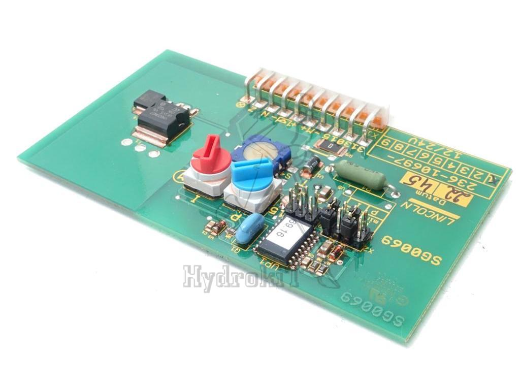 hight resolution of electronic board lincoln pump p203 236 10697 1