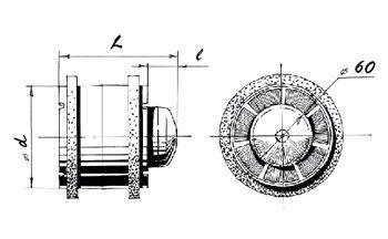 In-line Extractor fan TUBO-150