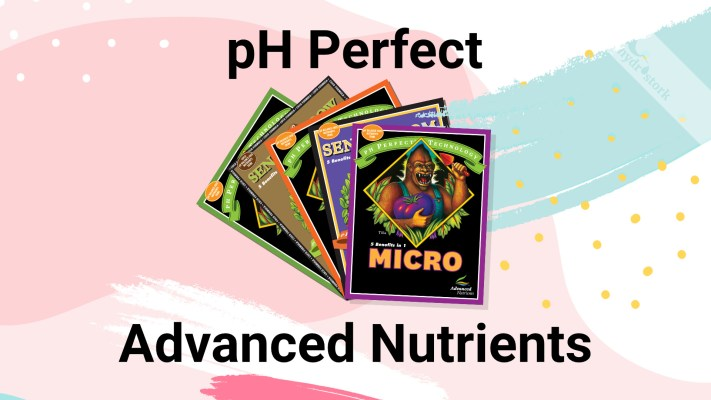 Advanced Nutrients pH Perfect Nutrients Guide
