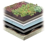 Garden Roof Rock Wool Assembly - American Hydrotech, Inc.