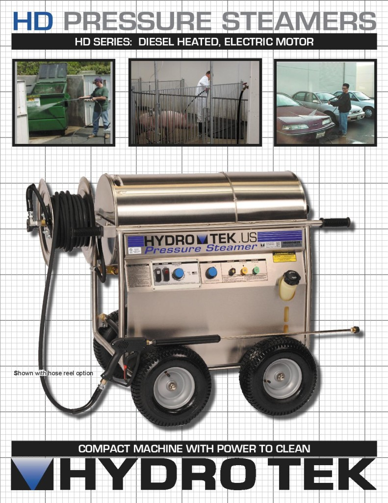 hight resolution of hd series hot water pressure washer compact portable electric powered diesel heated brochure page1