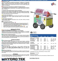 hd series hot water pressure washer compact portable electric powered diesel heated brochure page2 [ 791 x 1024 Pixel ]