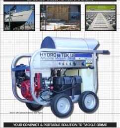 sm series portable hot water pressure washer brochure page1  [ 791 x 1023 Pixel ]