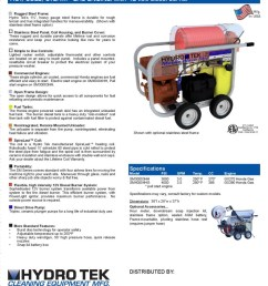 sm series portable hot water pressure washer brochure page2 [ 791 x 1023 Pixel ]