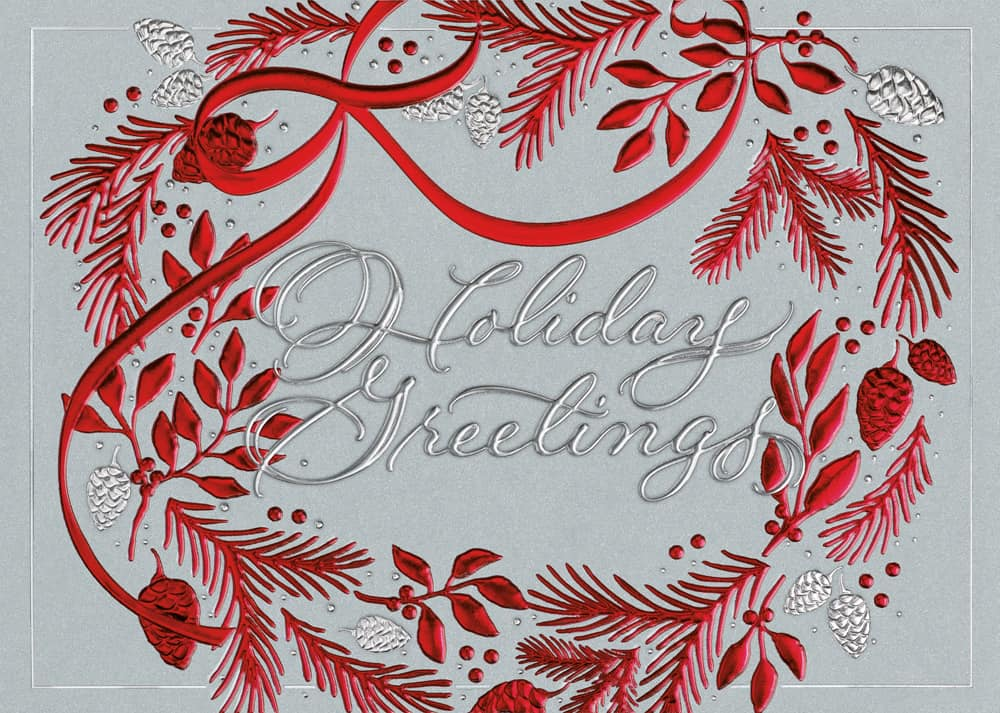 Birchcraft Holiday Cards  Hyegraph Invitations  Calligraphy