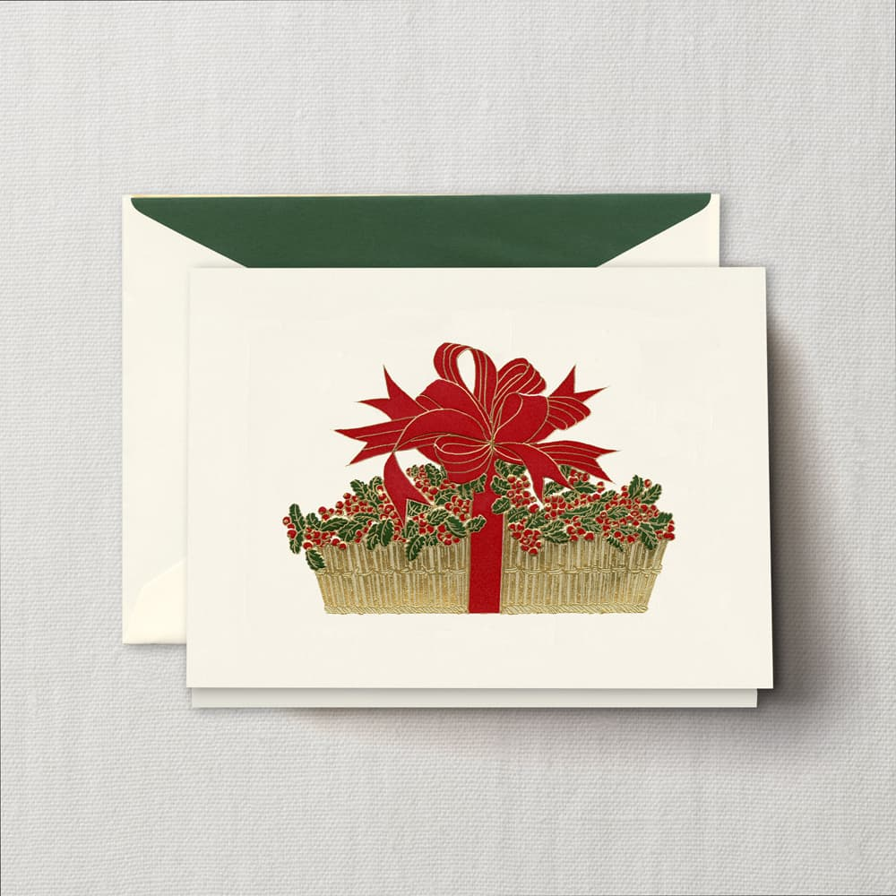 Crane Amp Co Holiday Cards Hyegraph Invitations Amp Calligraphy