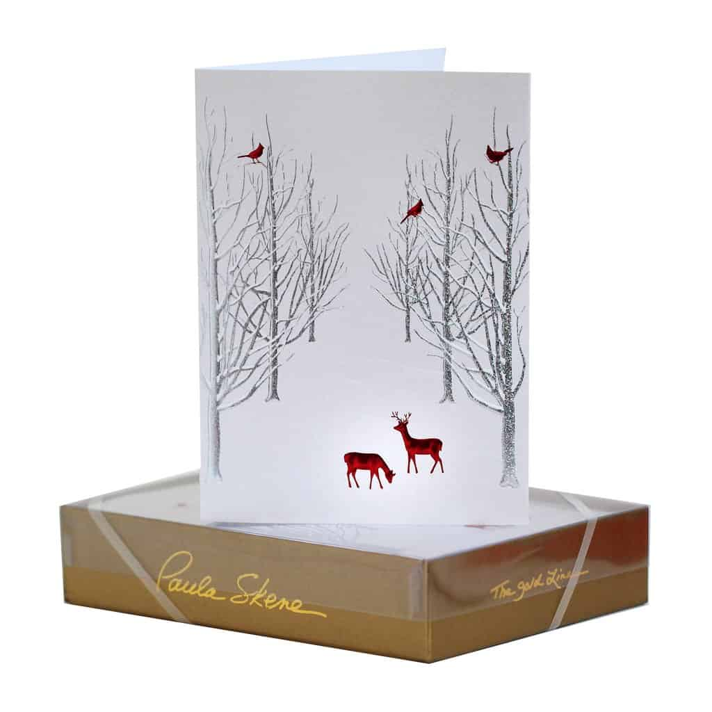 Paulaskene Holiday Boxed 2 Hyegraph Invitations