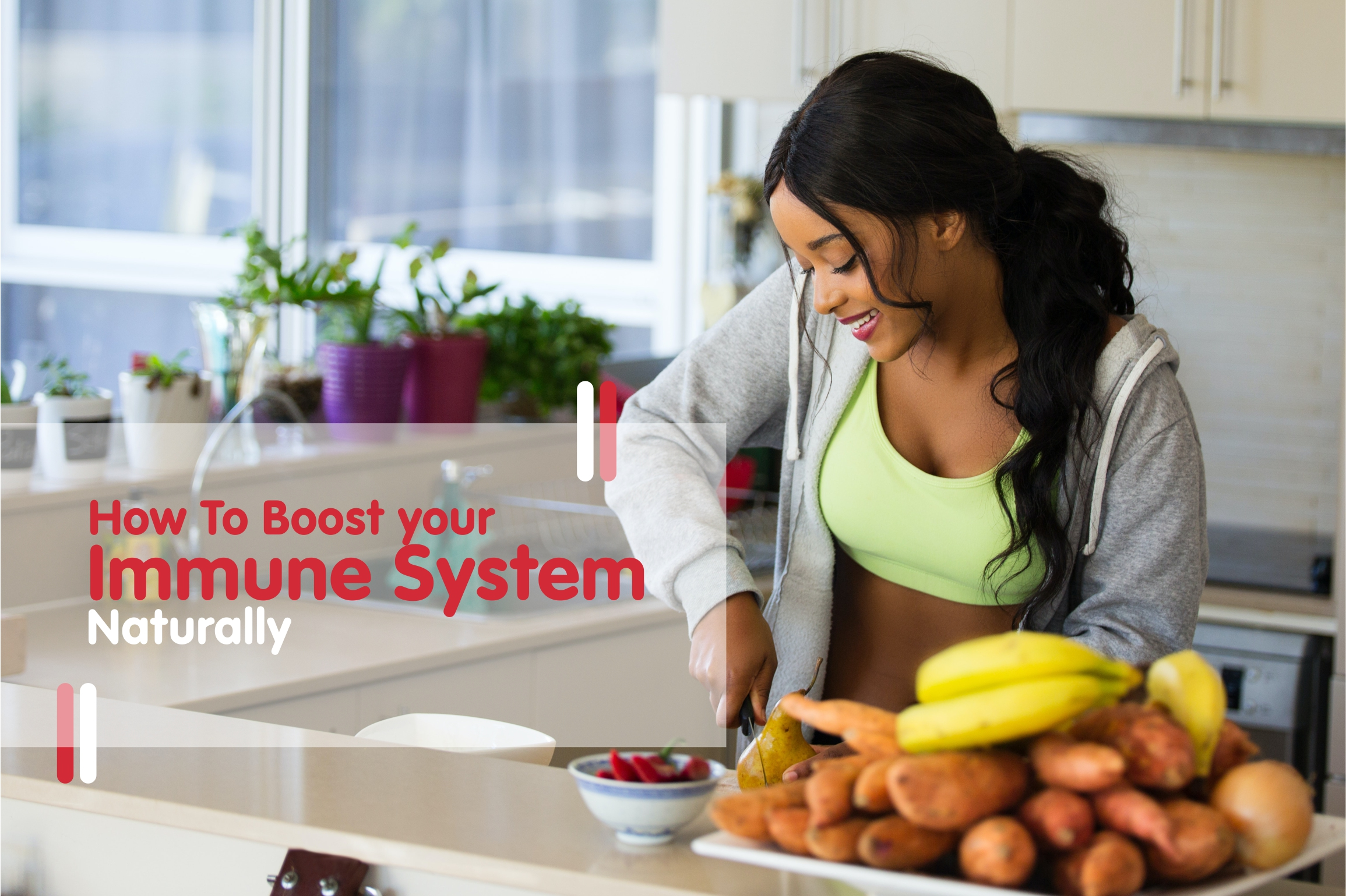 How to boost your immune syetem naturally