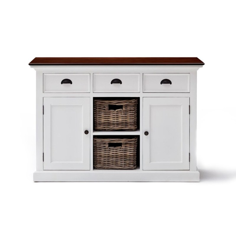 Halifax Accent Buffet with Two Baskets
