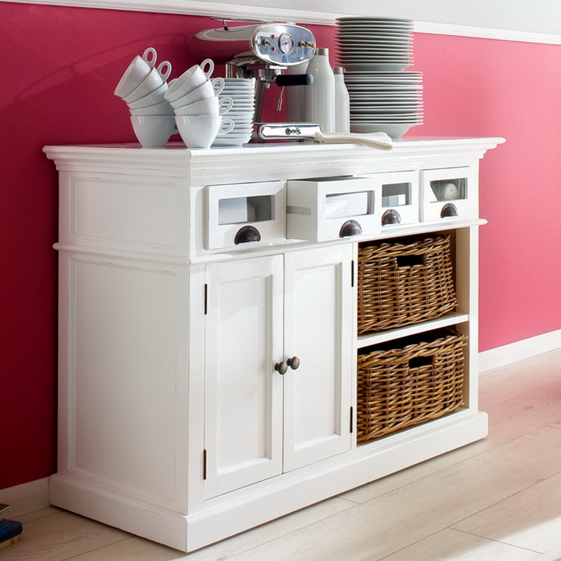 Halifax Kitchen Buffet with Basket Set