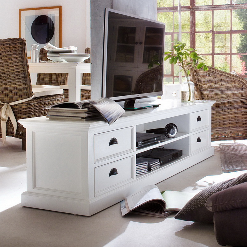 Halifax Entertainment Unit Large with Four Drawers