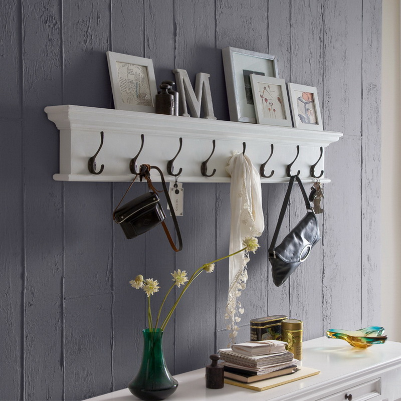 Halifax Coat Rack with Eight Hooks