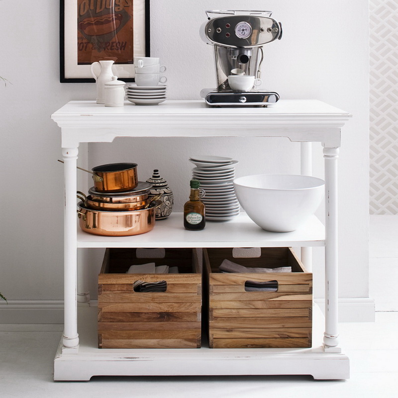 Bordeaux Multi Purpose Unit Small with Two Crates