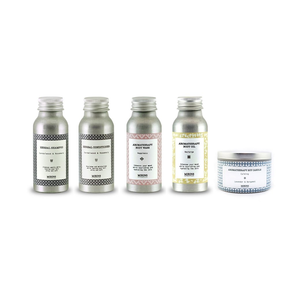 Hygge Aromatherapy Luxury Travel Kit By Mirins Copenhagen