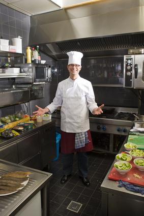 revetement sol cuisine professionnelle